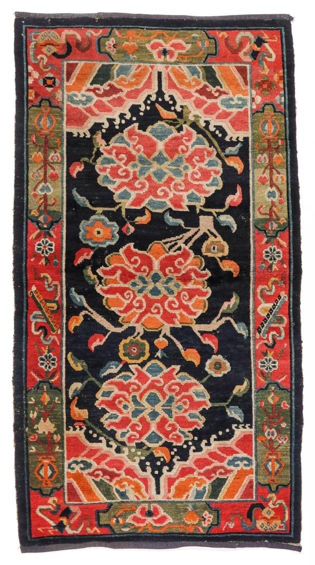 Antique Tibetan Rug, Tibet: 3'0'' x 5'7''