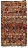 Antique Shirvan Kilim, Caucasus: 5'6'' x 9'6''