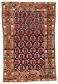 Antique West Persian Kurd Rug, Persia: 3'8'' x 5'7''