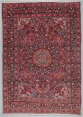 Antique Meshed Rug, Persia: 8'7'' x 12'3''
