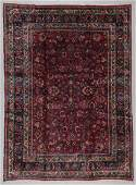 Antique Meshed Rug, Persia: 9'0'' x 12'1''