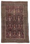 Antique Agra Rug India 43 x 68