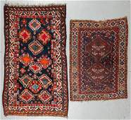 2 Antique Persian Shiraz Rugs