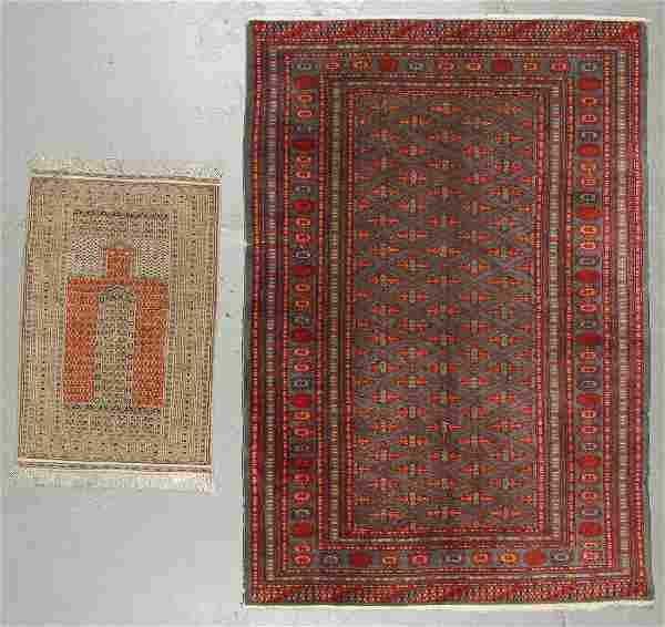 2 Vintage Bokhara Rugs, Pakistan