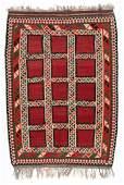 Semi-Antique Kordi Kilim, Persia: 5'8'' x 7'11''
