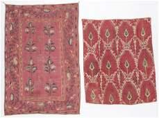 Two Antique Central Asian Textiles