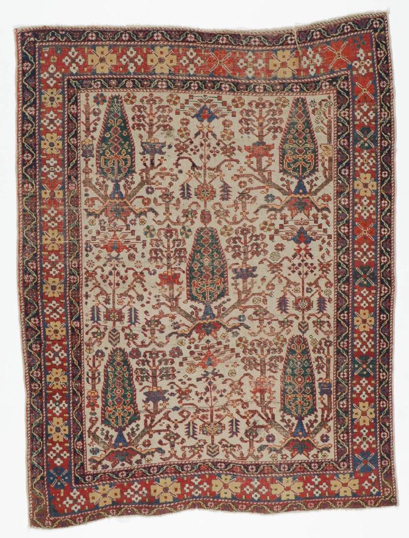 Antique Afshar Rug, Persia: 3'11'' x 5'4''