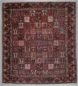 Large Semi-Antique Baktiari Rug, Persia: 13'4'' x