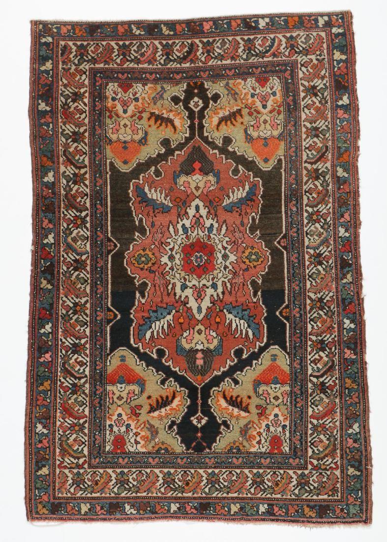 Antique Malayer Rug, Persia: 3'4'' x 5'3''
