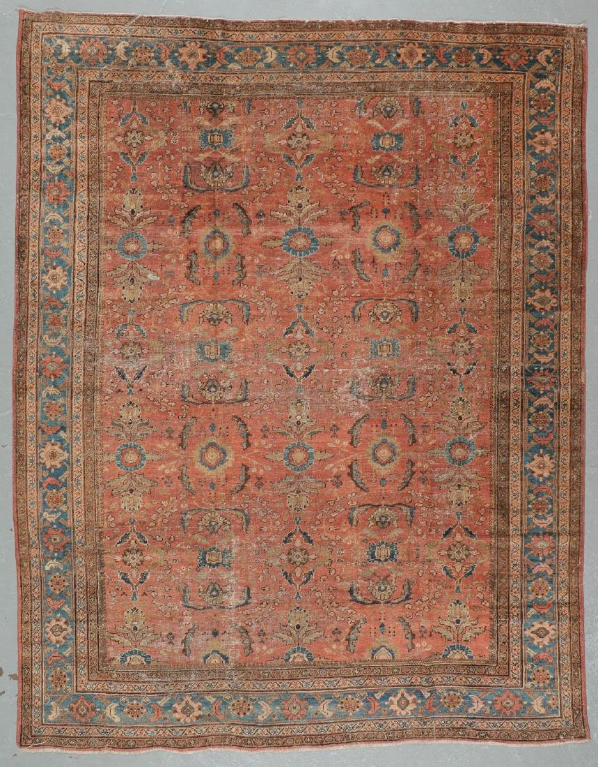 Antique Mahal Rug, Persia: 10'5'' x 13'3''
