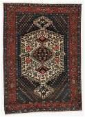 Antique Baktiari Rug, Persia: 4'9'' x 6'10''
