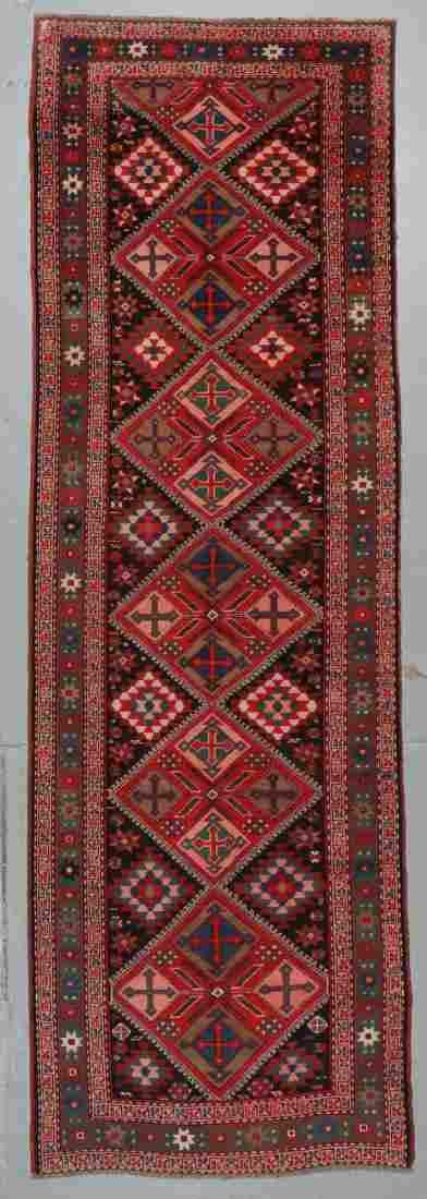 Antique Karabagh Kazak Rug, Caucasus: 3'8'' x 10'10''