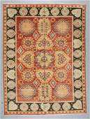 SemiAntique Khotan Rug China 79 x 106