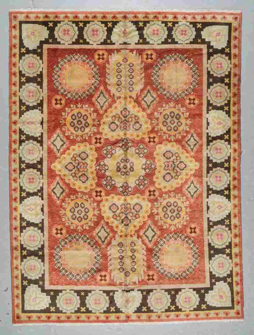 Semi-Antique Khotan Rug, China: 7'9'' x 10'6''