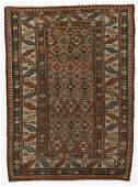 Antique Kuba Rug, Caucasus: 4'3'' x 5'8''