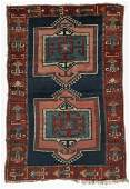 Antique Kazak Rug, Caucasus: 4'7'' x 6'8''