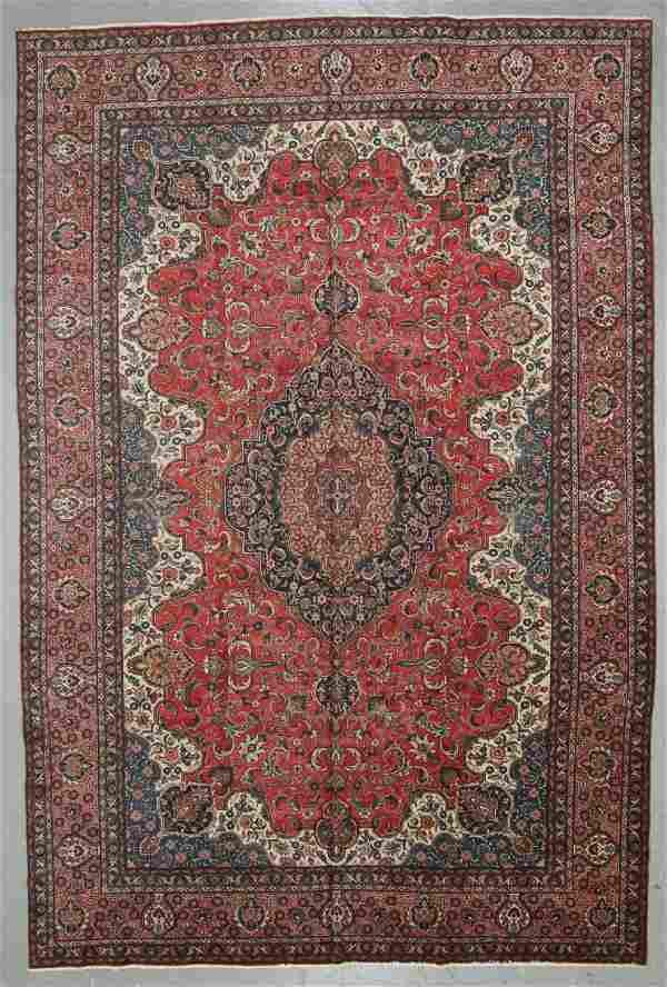Semi-Antique Kerman Rug, Persia: 12'3'' x 18'3''