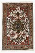 Vintage Tabriz Rug, Persia: 3'8'' x 5'3''