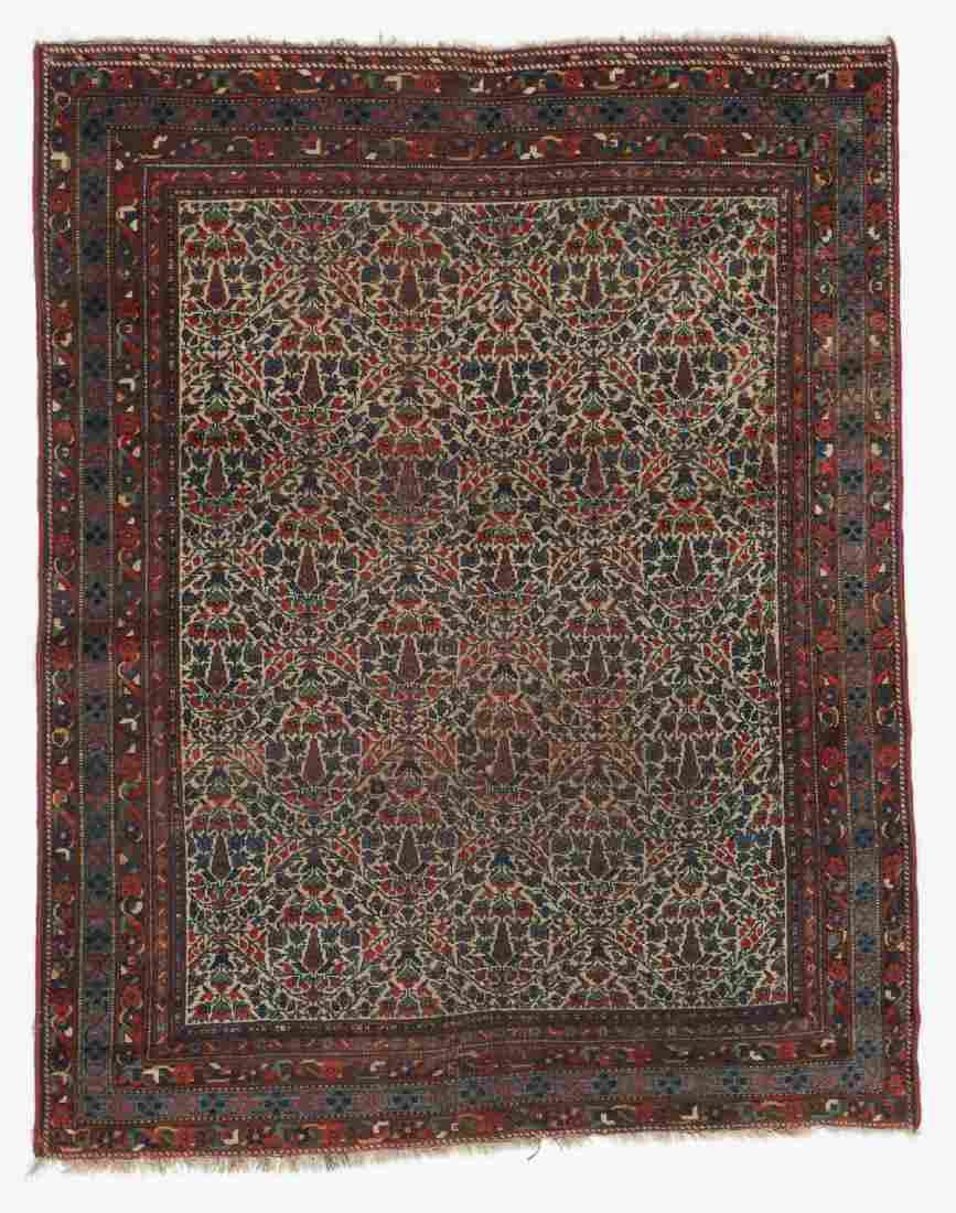 Antique Afshar Rug, Persia: 4'11'' x 6'2''