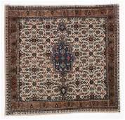 Vintage Tabriz Rug, Persia: 3'8'' x 3'6''