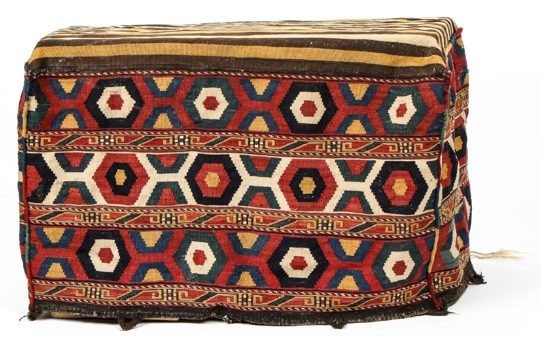 Antique Shahsavan Kilim Mafrash, Ca. 1900
