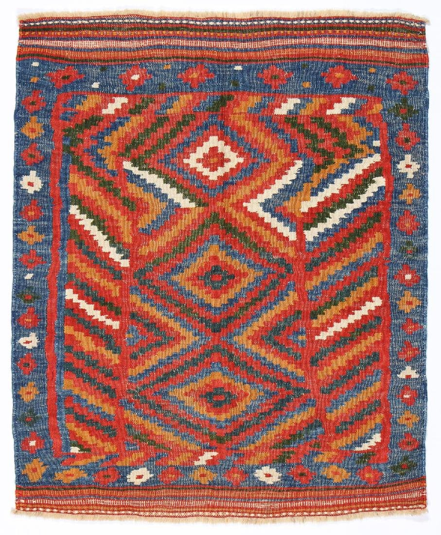 Bakhtiari Kilim Sofreh, Persia, Early 20th C