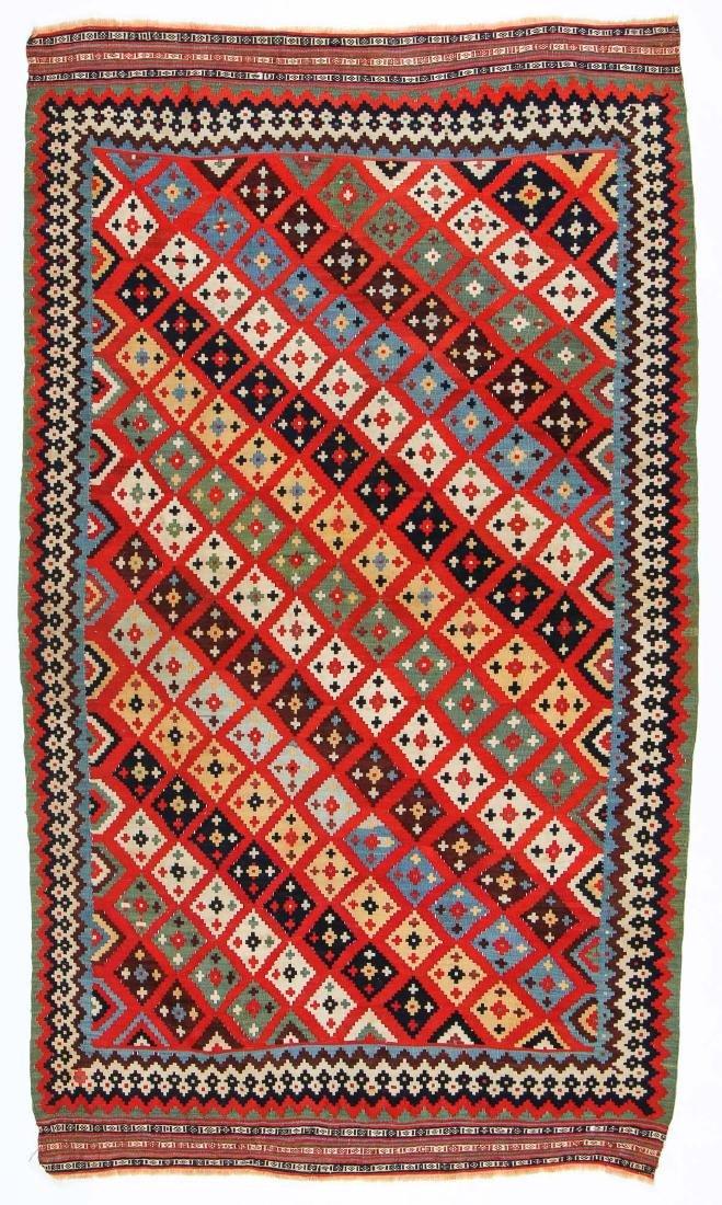 Antique Gashgai Kilim, Persia, ca. 1900
