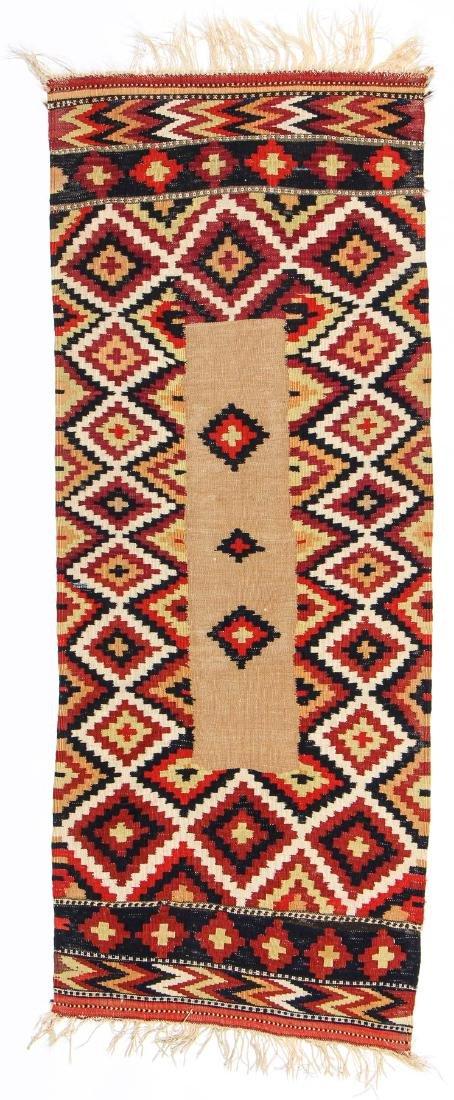Veramin Kilim Sofreh, Persia, Early 20th C.