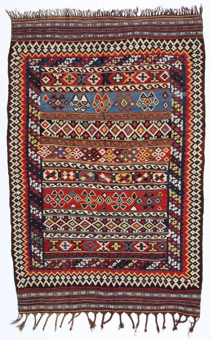 Fine Luri Kilim, SW Persia, Ca. 1900