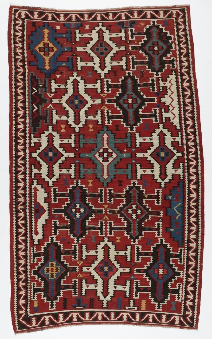 Kuba Kilim, Caucasus, Late 19th C