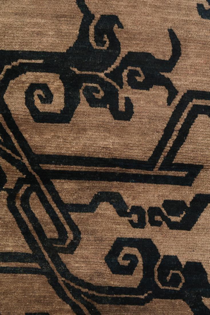 Antique Tibetan Khaden Rug, Tibet, Late 19th C - 2