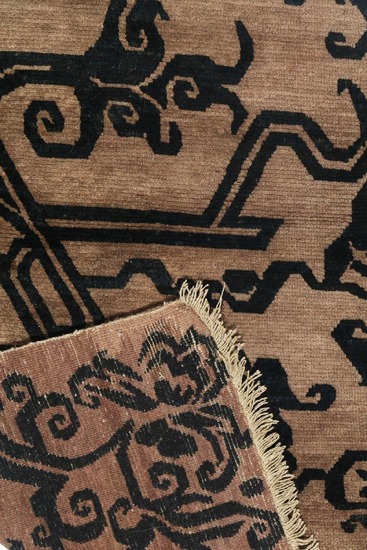 Antique Tibetan Khaden Rug, Tibet, Late 19th C - 4