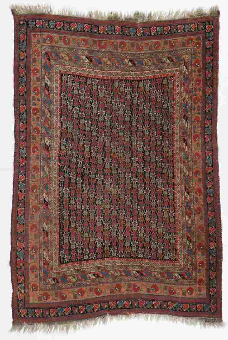 Antique Afshar Rug, Persia, Late 19th C