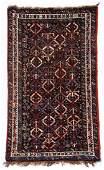 Antique Khamseh Basseri Rug, Persia, Late 19th C