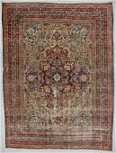 Antique Lavar Kerman Rug Persia 134 x 180
