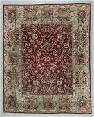 Antique Agra Rug India 97 x 122