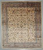 SemiAntique Kashan Rug Persia 139 x 161