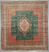 Semi-Antique Kerman Rug, Persia: 16'8'' x 17'8''