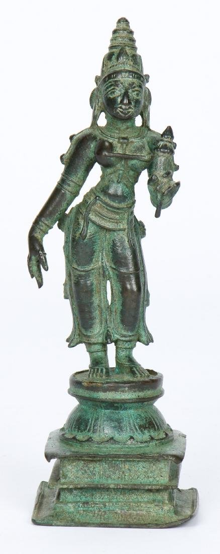 Antique Bronze Bhu-Devi, India, ex Marshall P. Blankarn