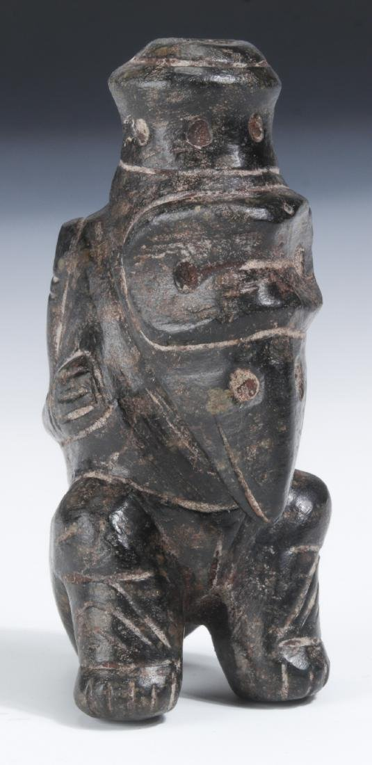 Taino Rare Sitting Shamanic Human to Bird Cohoba