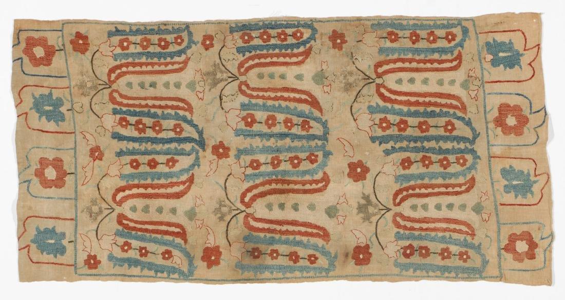 18th C. Ottoman Silk Embroidery