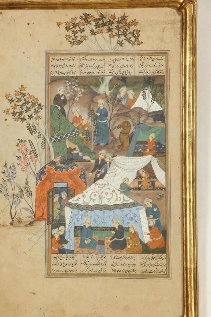 Antique Indo-Persian Miniature Painting - 2