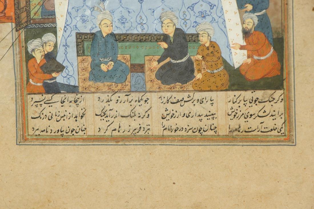 Antique Indo-Persian Miniature Painting - 4