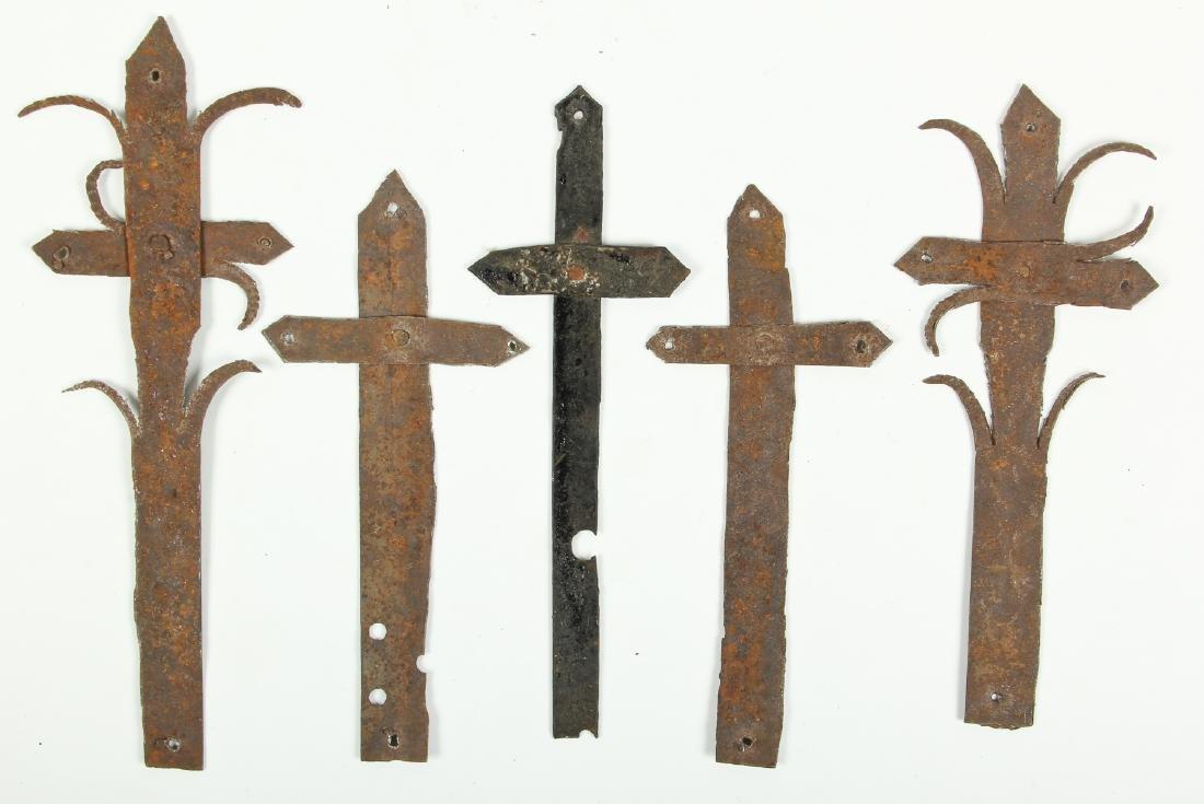 5 Graveyard Crosses (Haitian, 20th c.)