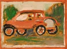 "Jimmy Lee Sudduth (1910-2007) ""Car"""