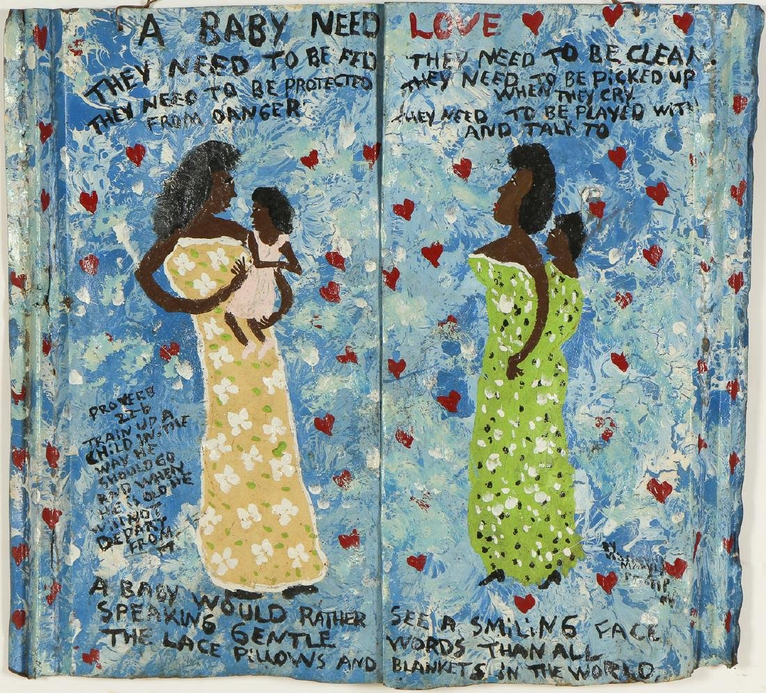 """Mary Proctor (American, b. 1960) """"A Baby Need Love..."""""""