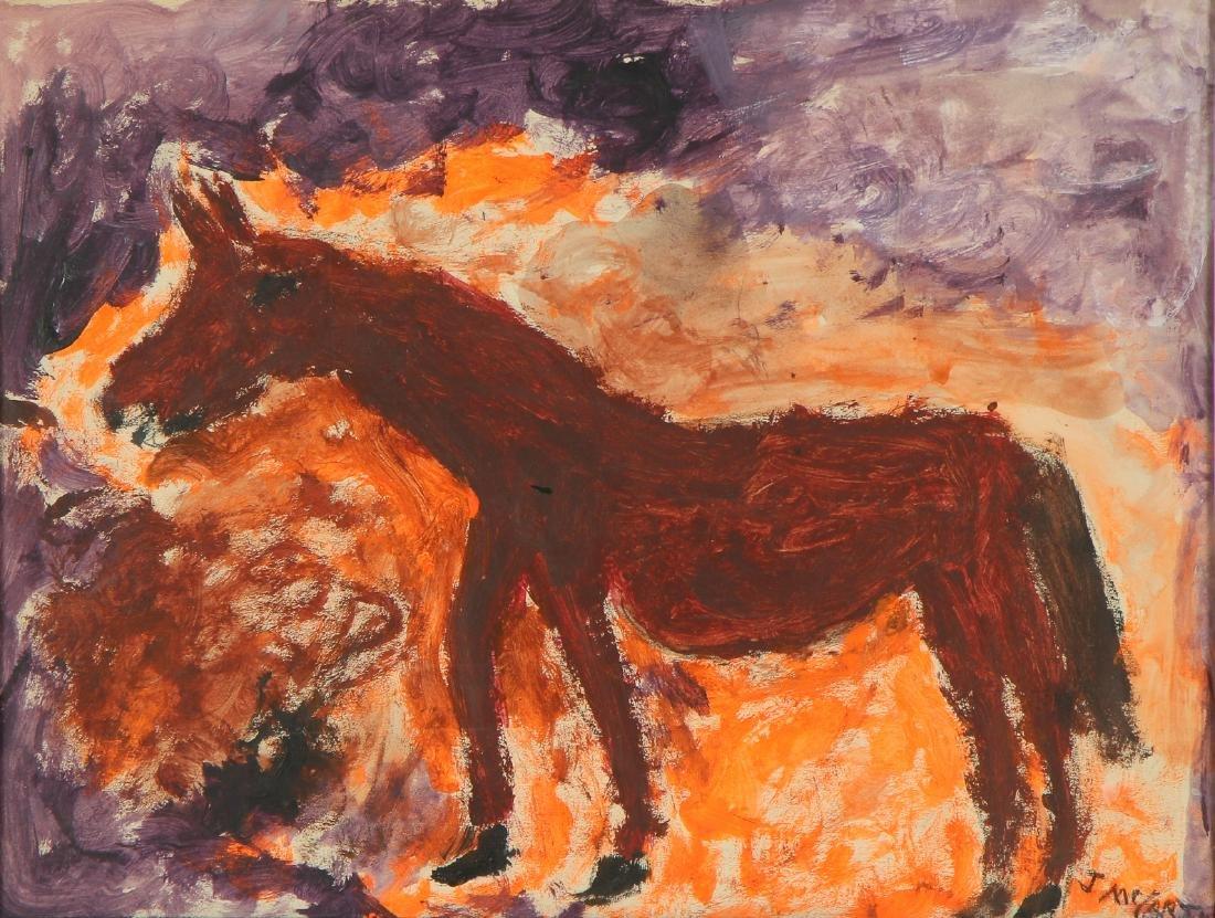 "Justin McCarthy (American, 1892-1977) ""Horse"""