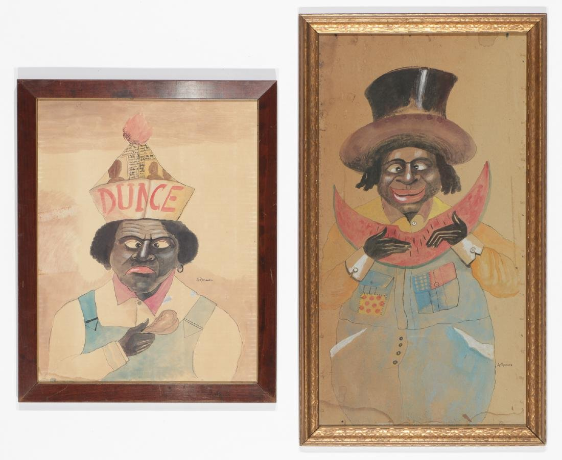 Antonio Romano (1953-2018)Two Works