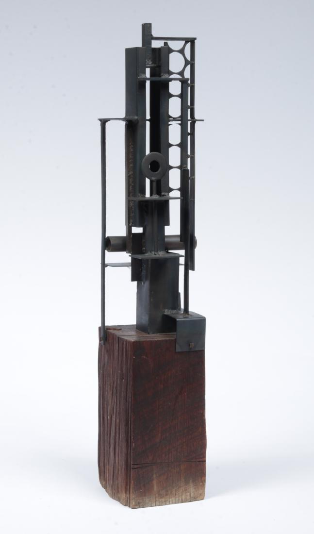Lee Bruner (American, 20th c.) Found Metal Sculpture