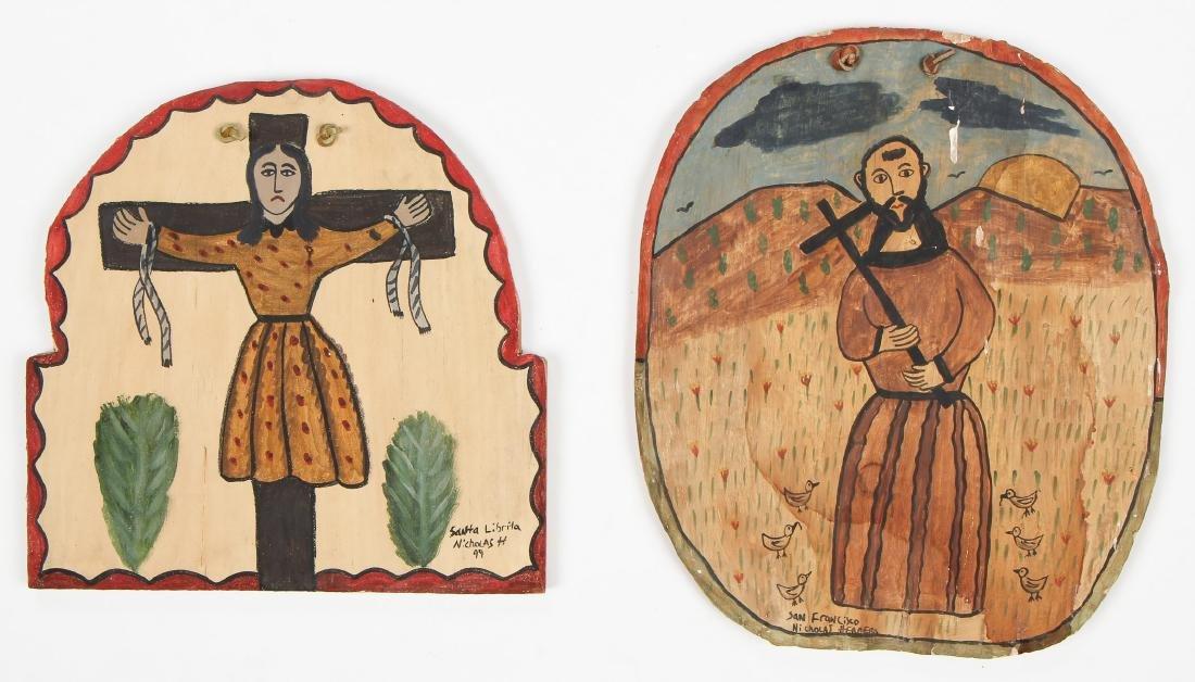 Nicholas Herrera (American, b. 1964) Two Works